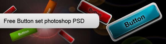 Free High Quality Web Button PSD