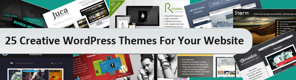25 Creative Wordpress themes