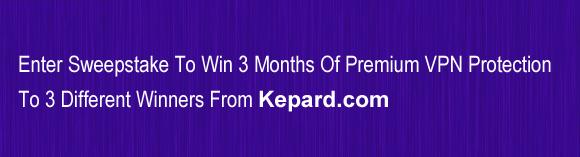 EnterSweepstake_Kepard