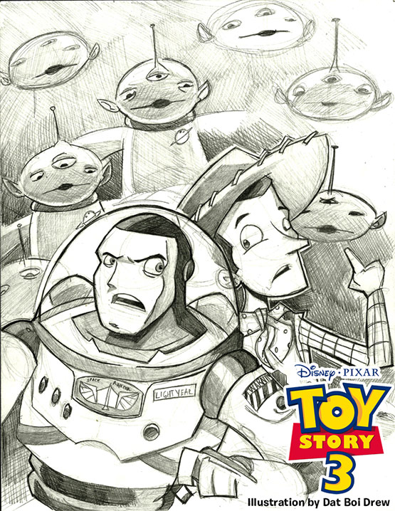 10 of 40 Incredibly Amazing Inspiration From ToyStory 3 Fan Art