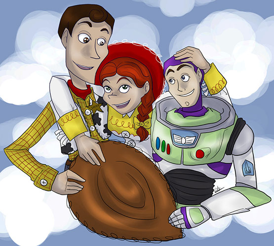 27 of 40 Incredibly Amazing Inspiration From ToyStory 3 Fan Art