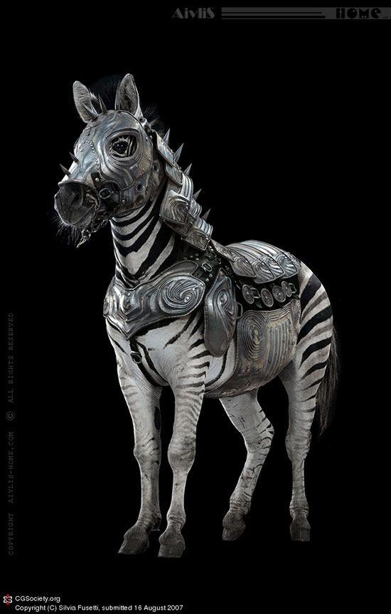 Zebra Armour, Silvia Fusetti
