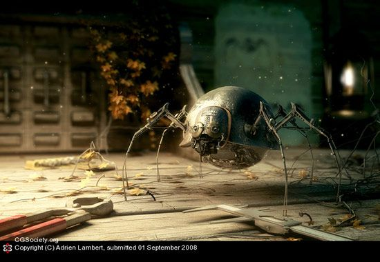 Spider Robot, Adrien Lambert