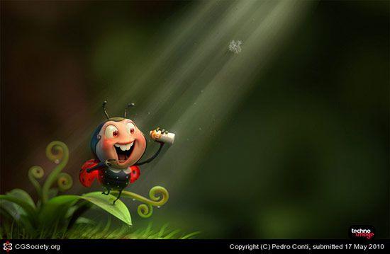 LadyBug, Pedro Conti