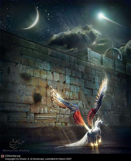 Al Buraq waits, Khalid A. Al-Muharraqi