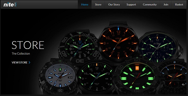 nitewatches.com - BLACK