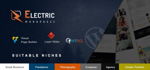 electric wordpress theme